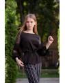 Блуза женская  iDial style кружевной рукав 787