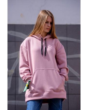 Худи утепленная Dial style 000 розовая