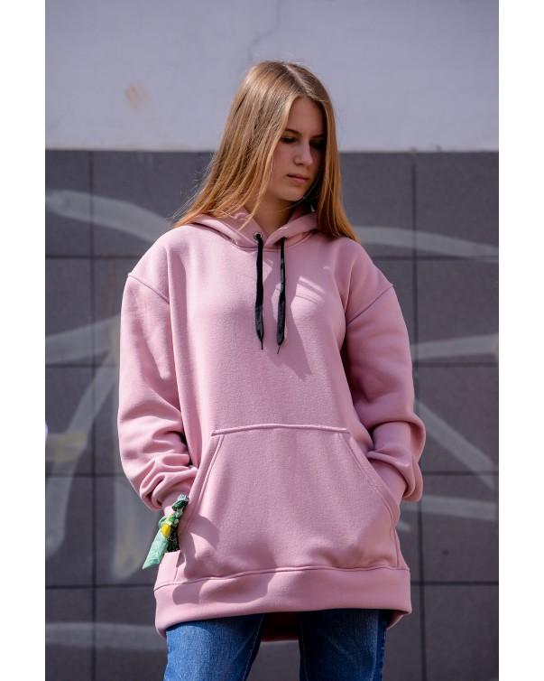 Худи утепленная iDial style 000 розовая