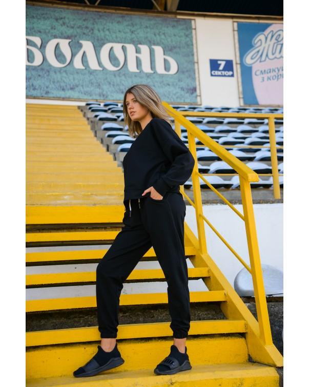 Спортивный костюм iDial style черный 426