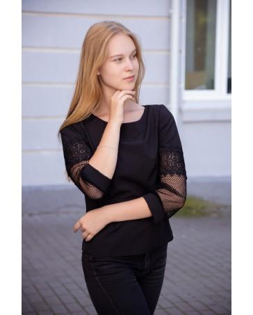 Блуза женская iDial style 820 черная