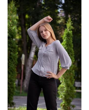 Блуза женская iDial style 799 серая