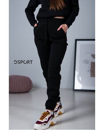Женские спортивные штаны 429 на флисе