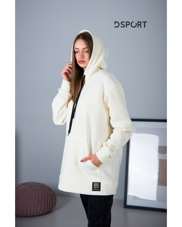 Худи Оверсайз iDial style белый 405-3