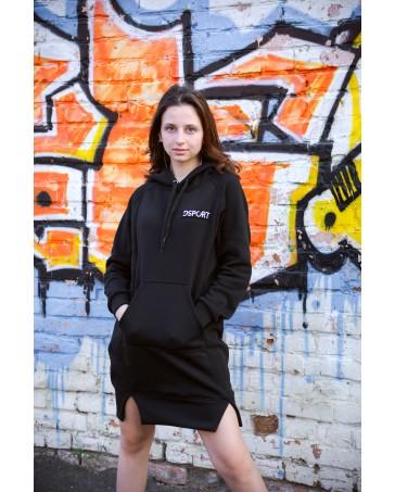 Женское платье-худи 428 iDial style черная
