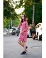 Женское платье-худи 428 iDial style коралл