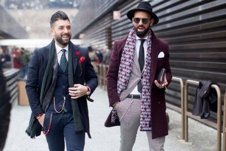 Тренд  мужской моды весна 2017