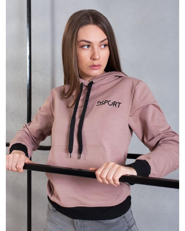 Худи на подростков iDial style розовая 407