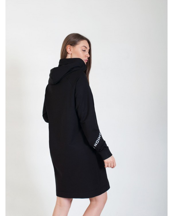Спортивное платье iDial style черное 411