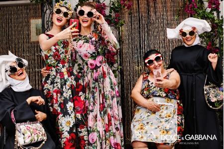 DOLCE GABBANA – цветная колекция 2017.