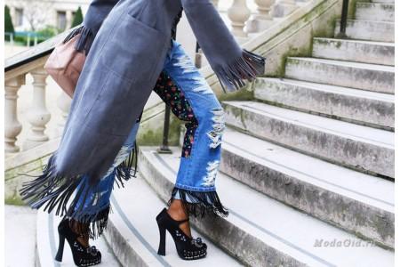 5 модных фасонов джинсов весна-лето 2017